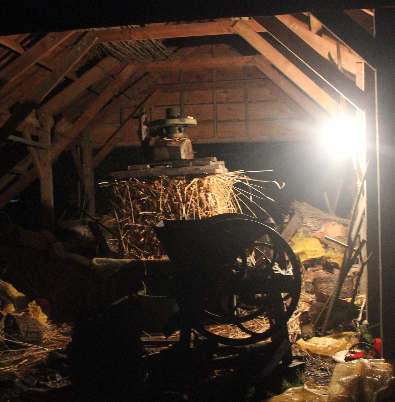 cider making in dark