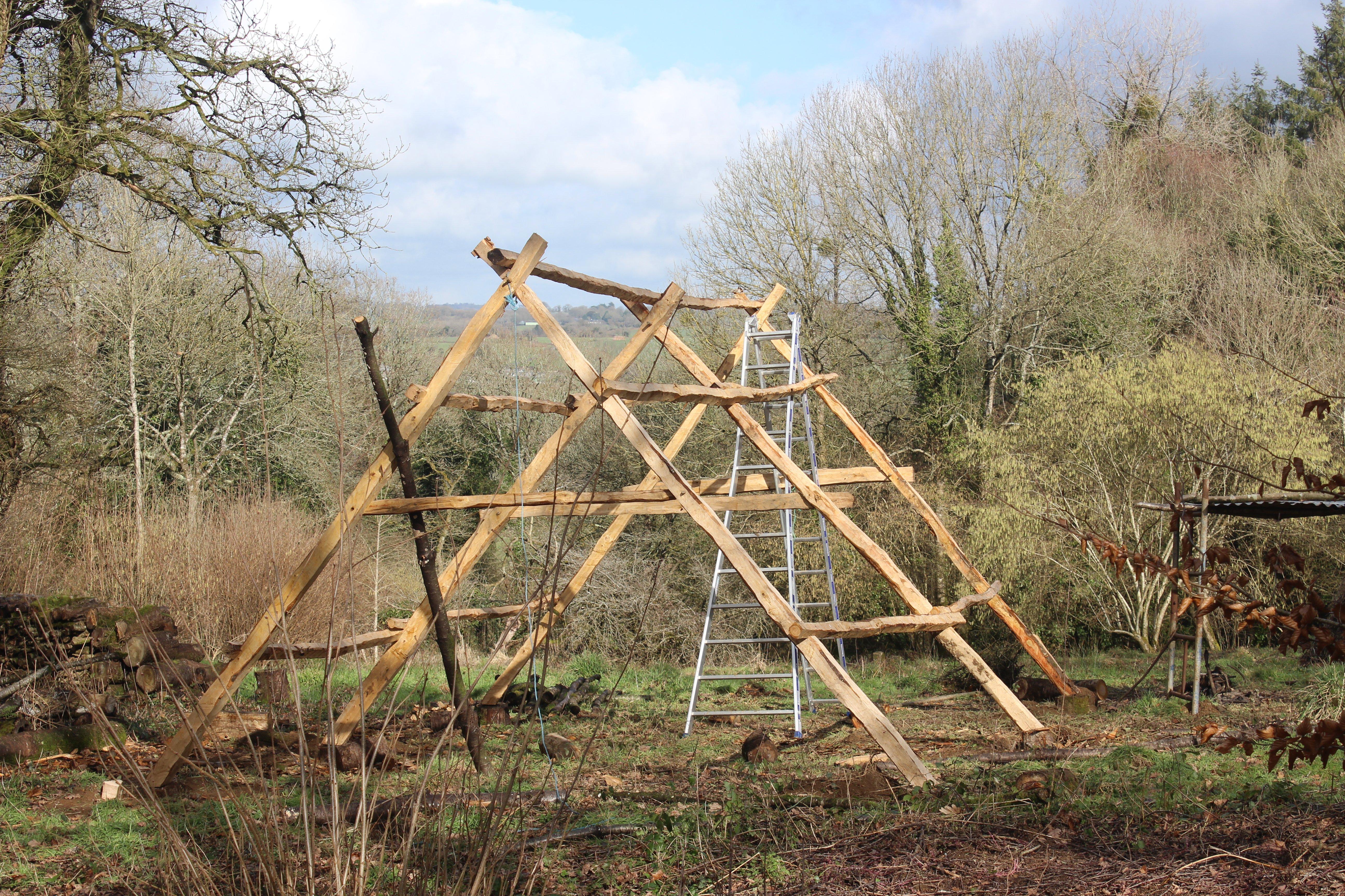 timber frame_cherry_close